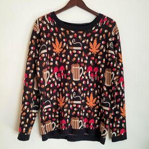 BDG Drug Beer Cigarette Sweater